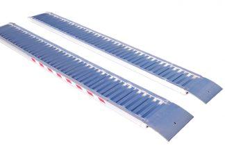 1600 kg Aluminium loading ramps for recovery trucks