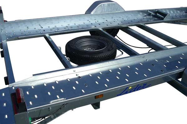 Car Transporter Spare Wheel and Carrier