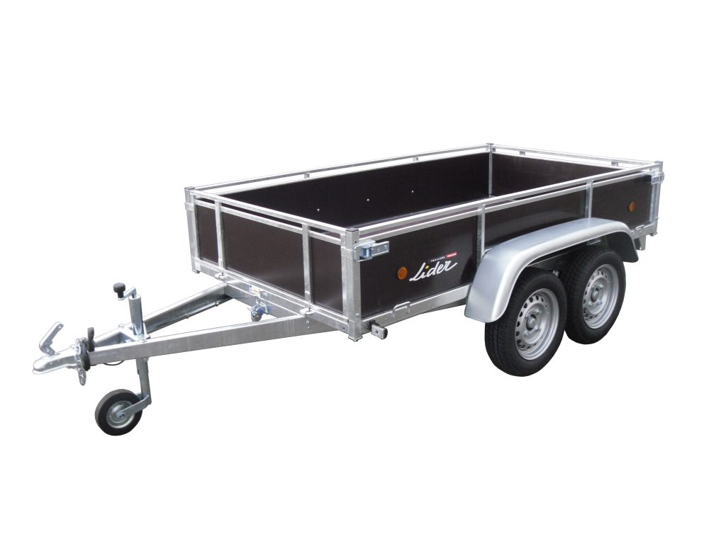Lider wood sided 39450, is a twin-axle