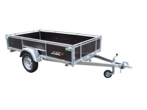Lider Wooden Sided Trailer