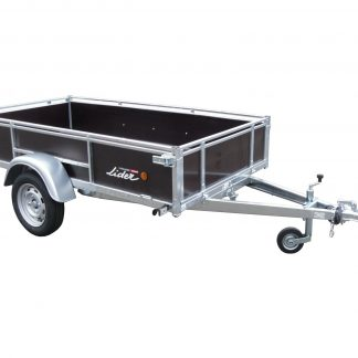 Lider Wooden Sided Trailer 39460