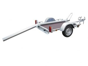 Lider Motorbike trailer Single Rail