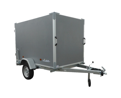 39920-Box Van trailer